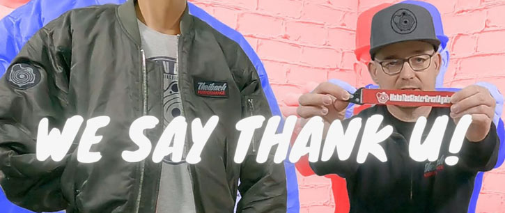 We say thank you! Theibach-Performance Jacket Merchandise