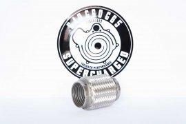 Flex tube / Flex piece 63,5mm / 100mm universal