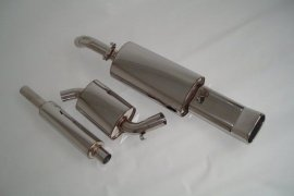 exhaust system FMS VW Golf 2 G60 - 76mm stainless steel