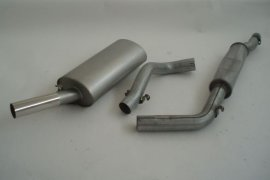 Exhaust system FMS VW Golf 1 - size A / 63,5mm steel