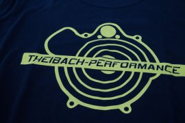 T-shirt men Theibach-Performance in black
