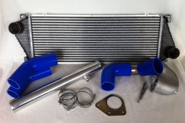 Charge air system Golf 1 G60 Sprinter - blue