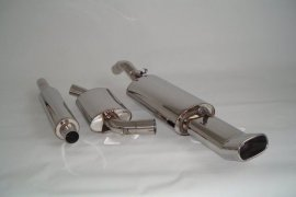 Exhaust system FMS VW Golf 2 G60 - size A / 63,5mm stainless steel