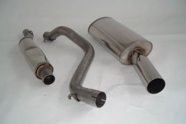 Exhaust system FMS VW Golf 1 - size A / 63,5mm stainless steel