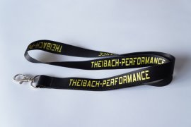 Lanyard Theibach-Performance black/yellow