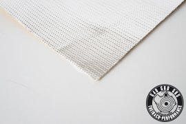 heat protection mat silver 500x500mm 0,2mm