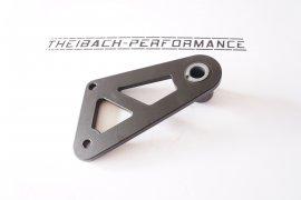 Belt tensioner holder - flat version - black