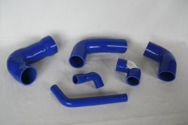 Charge air hose - Set Golf G60 - blue