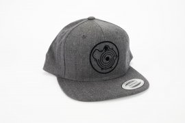 Snapback Cap TP Collection 2020 in dark grey with G-Lader logo