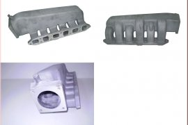 Intake manifold R32 Turbo - short version, lateral outlet