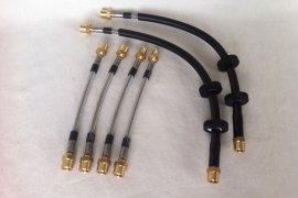 Steel braided brake lines Golf 6