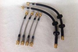 Steel braided brake lines Polo G40 / 86c