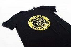 T-shirt men G40 G60 G65 Loader / G-Lader retro look - black with yellow print