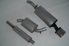 Exhaust system FMS VW Corrado G60 - Size A / 63,5mm steel