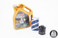 Engine oil Castrol 10W-60 Edge Supercar - 5 litres + oil filter for G40 / G60