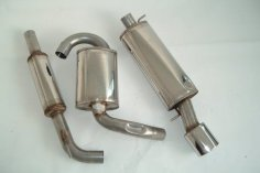 exhaust system FMS VW Corrado G60, VR6, 16V, 8V - size A / 63,5mm stainless steel