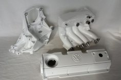 Engine parts/attachments Powder coating