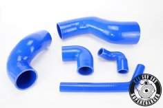 Charge air hoses for VW Golf G60 with climate control - blue