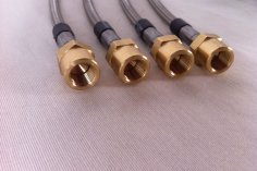 Steel braided brake lines Golf 3 VR6 from year 03/95 up