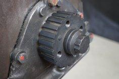 crankshaft wheel + crankshaft screw G60 / PG motor