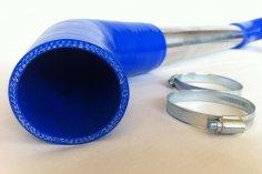 Charge air duct Golf 1 G60 Sprinter LLK - blue