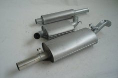 Exhaust system FMS VW Golf 2 G60 - size A 63,5 mm steel