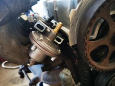 fuel pressure regulator / fuel pressure regulator adjustable VW G60 plug & play