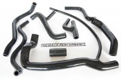 Cooling water hoses VW G60 Golf, Rallye, Corrado - black