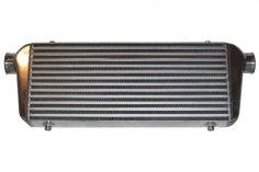 Intercooler 600 x 300 x 76 mm aluminium universal