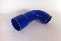 Charge air hose Golf G60 large LLK - blue