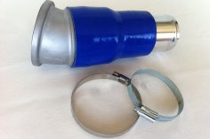 RS exhaust kit for VW G60 G-Supercharger - blue