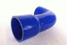 Charge air hose Golf G60 large LLK - blue